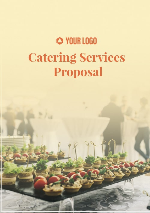 Proposal Template for Catering Service Proposal
