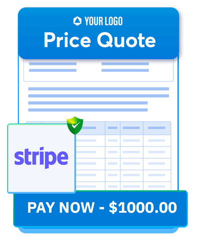 Now integrate Stripe directly into your documents with the help of Revv. This icon shows that.