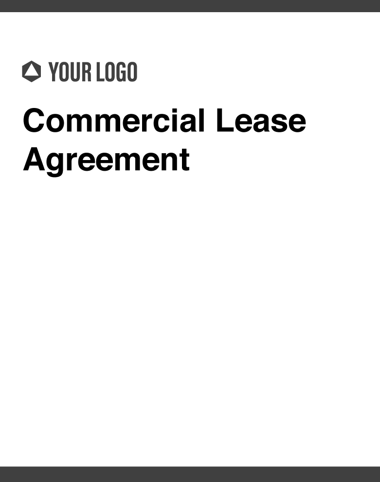 Cover images of Revv's Commercial Lease Agreement