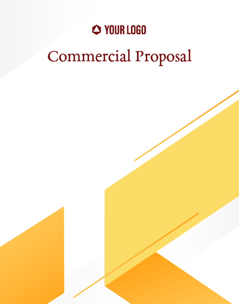 Proposal Template for Commercial Proposal