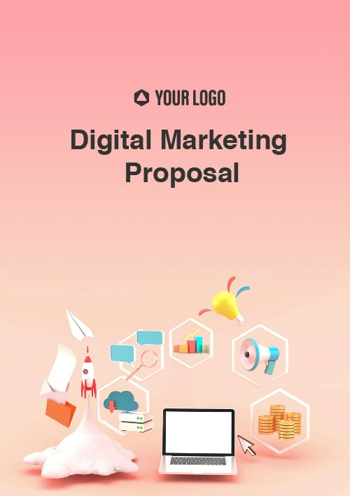 Proposal Template for Digital Marketing Proposal