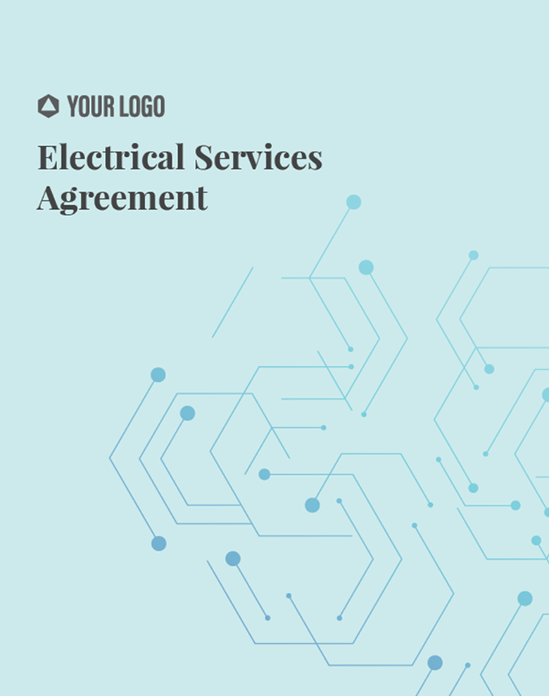 Proposal Template for Electrical Services Agreement