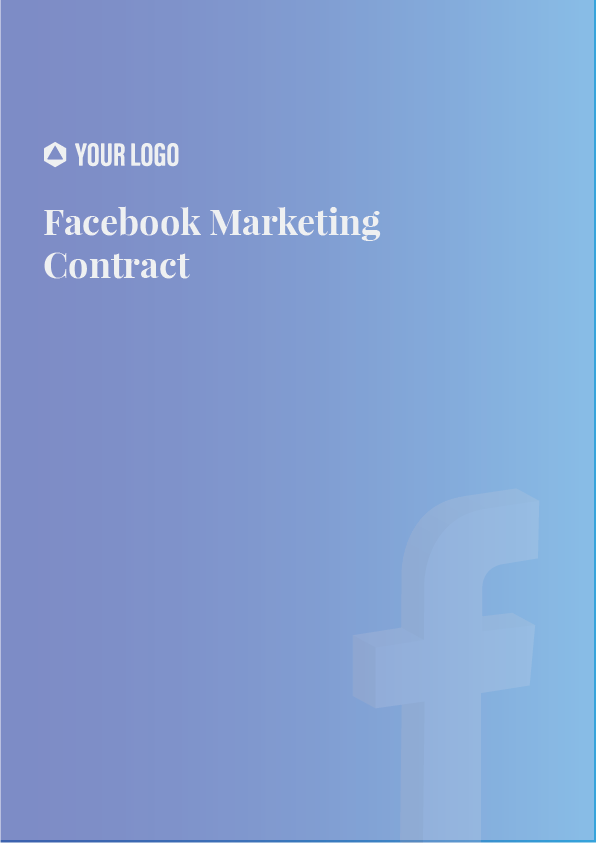 Proposal Template for Facebook Marketing Contract