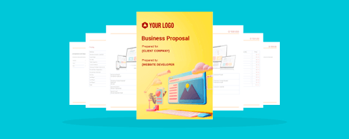 Revv's proposal templates is designed to help you send across proposals faster.