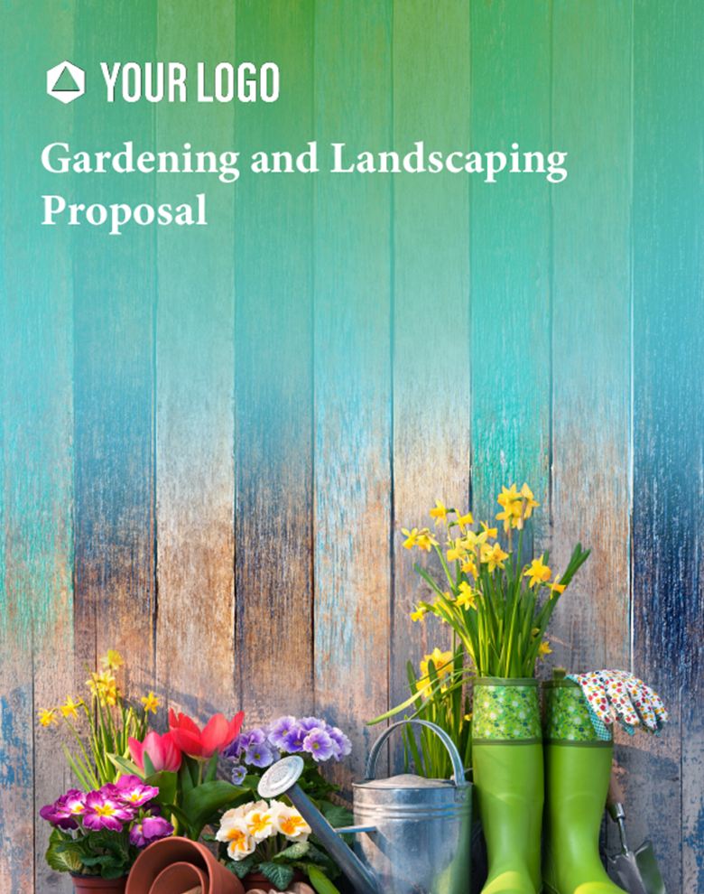 Proposal Template for Gardening and Landscape Proposal