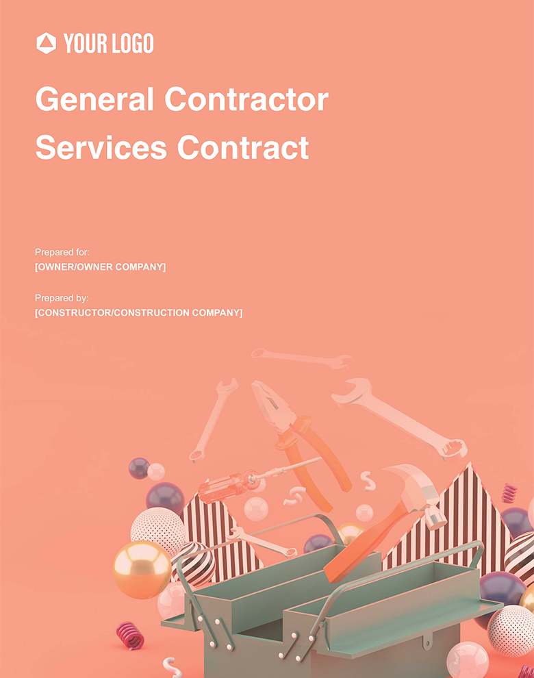 Proposal Template for General Contractor Services Contract