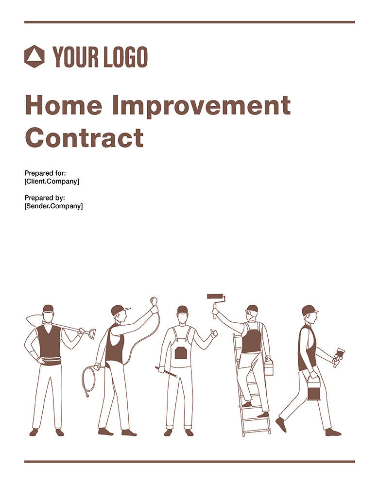 Cover images of Revv's Home Improvement Contract