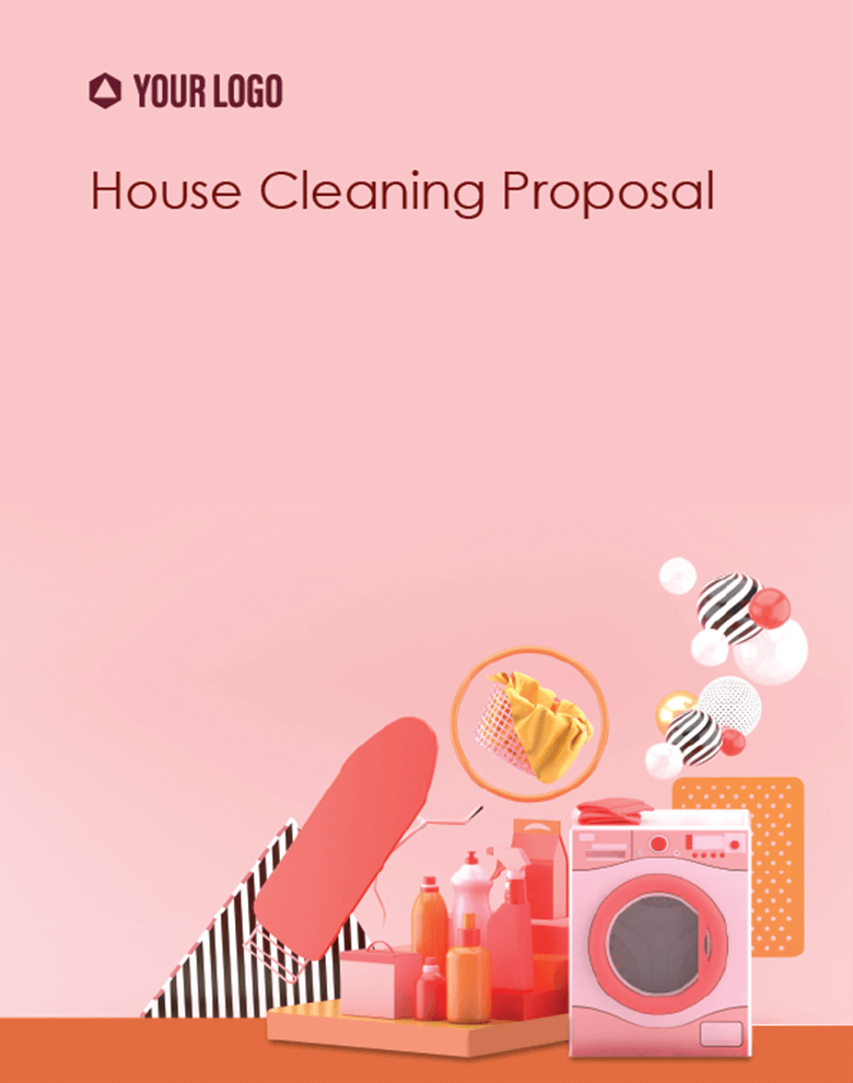 Proposal Template for House Cleaning Proposal