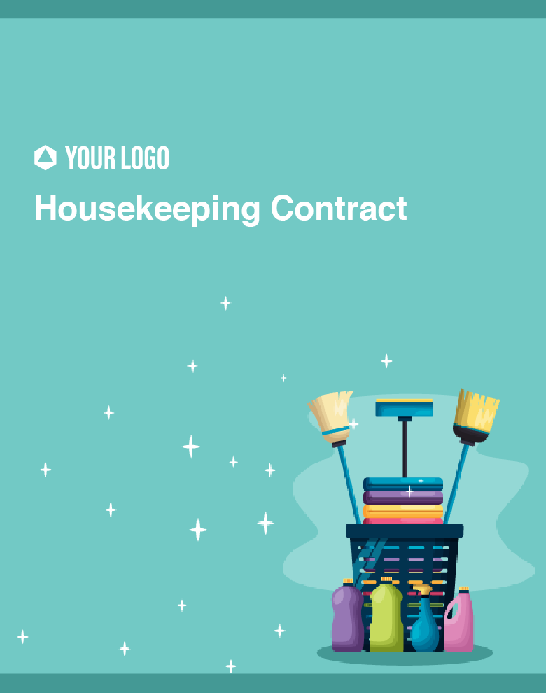 Proposal Template for Housekeeping Contract