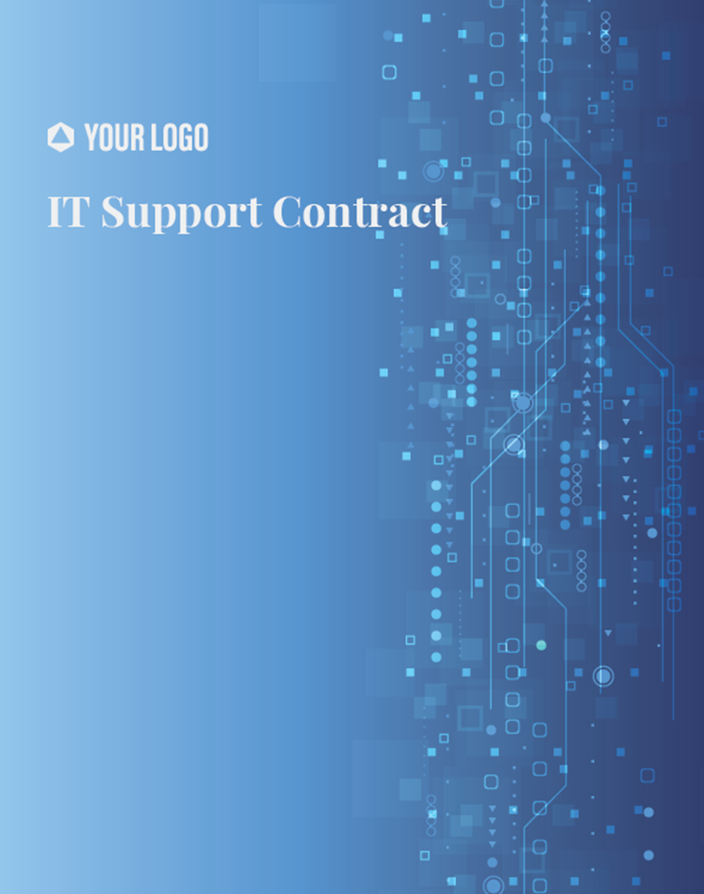 Proposal Template for IT Support Contract