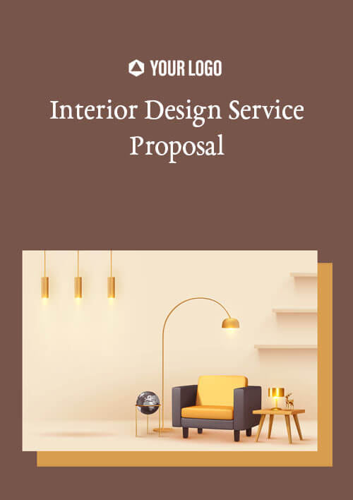Proposal Template for Interior Design Service Proposal