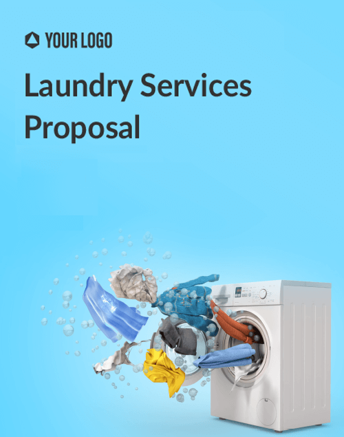 Proposal Template for Laundry Services Proposal