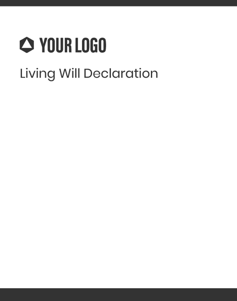 Proposal Template for Living Will Declaration