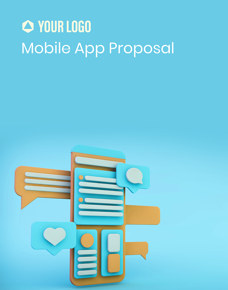Proposal Template for Mobile App Proposal