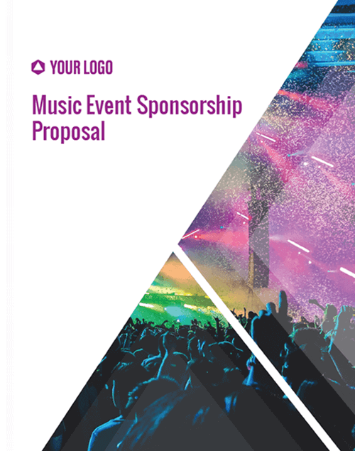 Proposal Template for Music Event Sponsorship Proposal