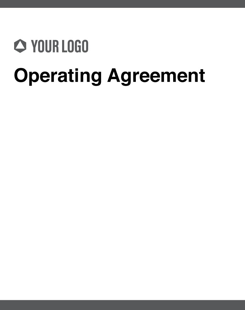 Cover images of Revv's Operating Agreement