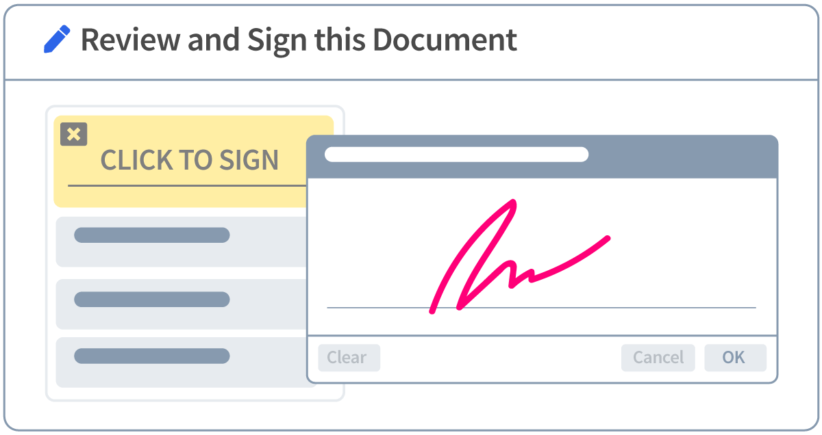 Faster e-signature with Revv proposal management software.