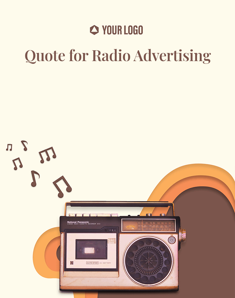 Proposal Template for Quote for Radio Advertising