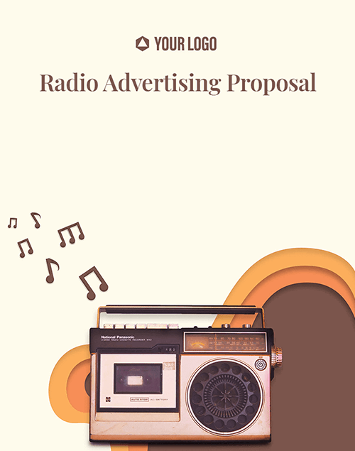 Proposal Template for Radio Advertising Proposal