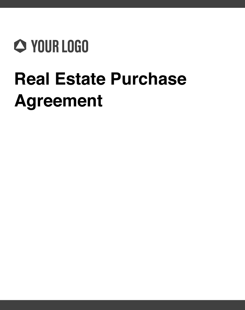 Cover images of Revv's Real Estate Purchase Agreement
