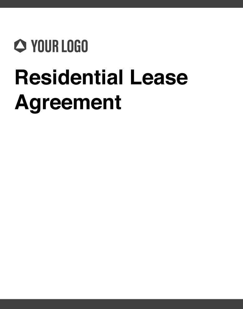 Cover images of Revv's Residential Lease Agreement