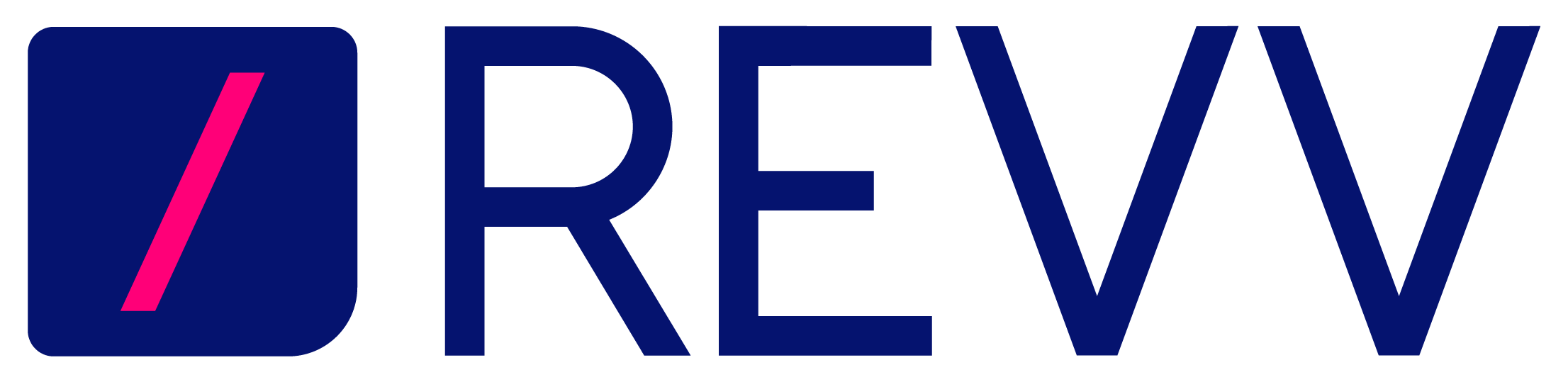 This is the Revv logo. Revv is a quoting and contract management software platform