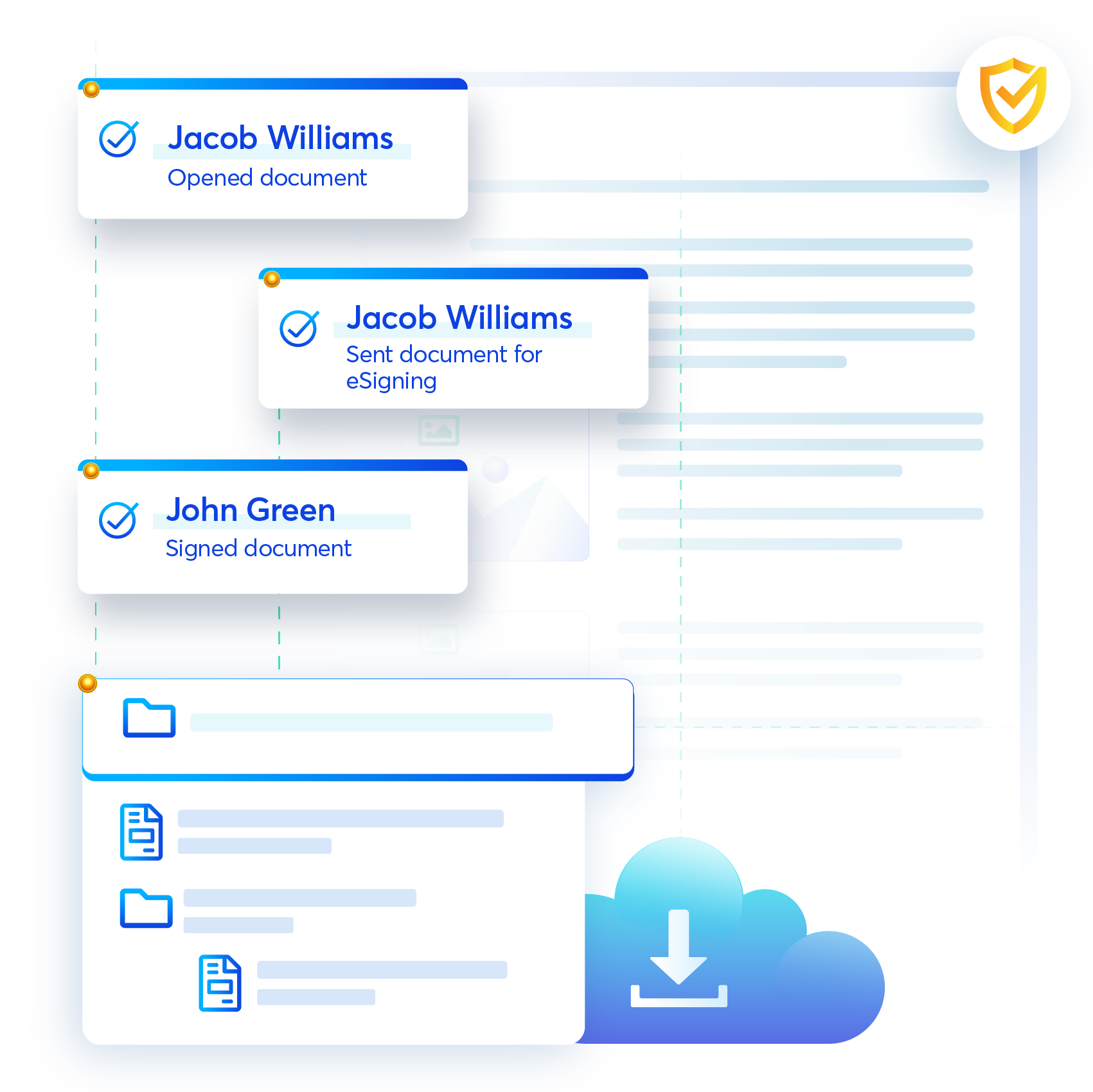 Contract management platform, Revv, gives you centralized complete control and visibility to the entire lifecycle of contracts.