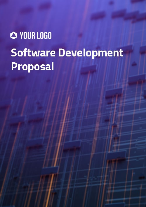Proposal Template for Software Development Proposal