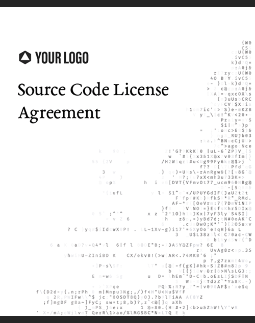 Proposal Template for Source Code License Agreement