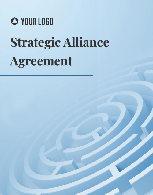 Proposal Template for Strategic Alliance Agreement