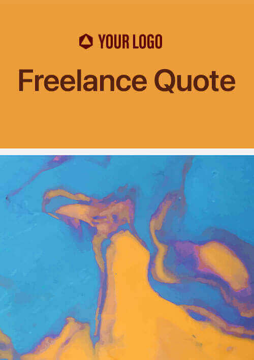 Draft best freelance quote about your services using Revv's sales quote and sales proposal software.