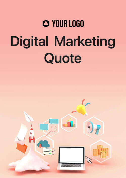 Revv's quoting software provides digital marketing quote templates to create perfect content and win clients.
