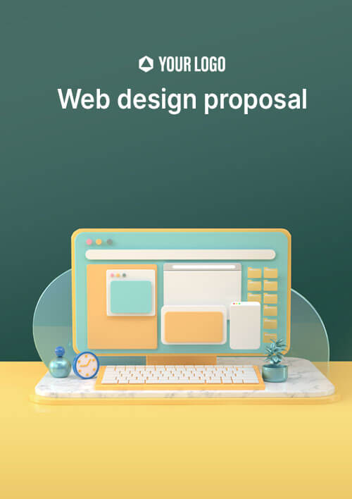 Proposal Template for Web Design Proposal