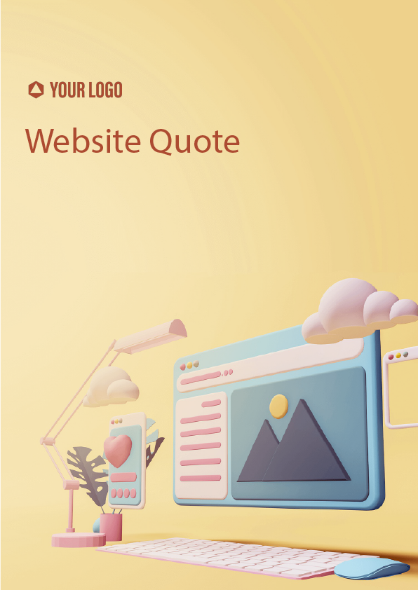 Proposal Template for Website Quote