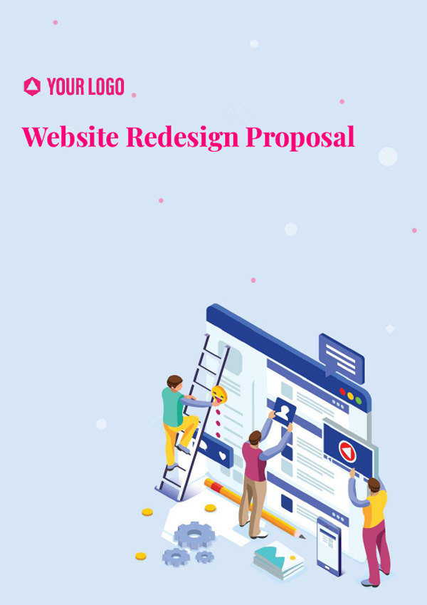 Proposal Template for Website Redesign Proposal