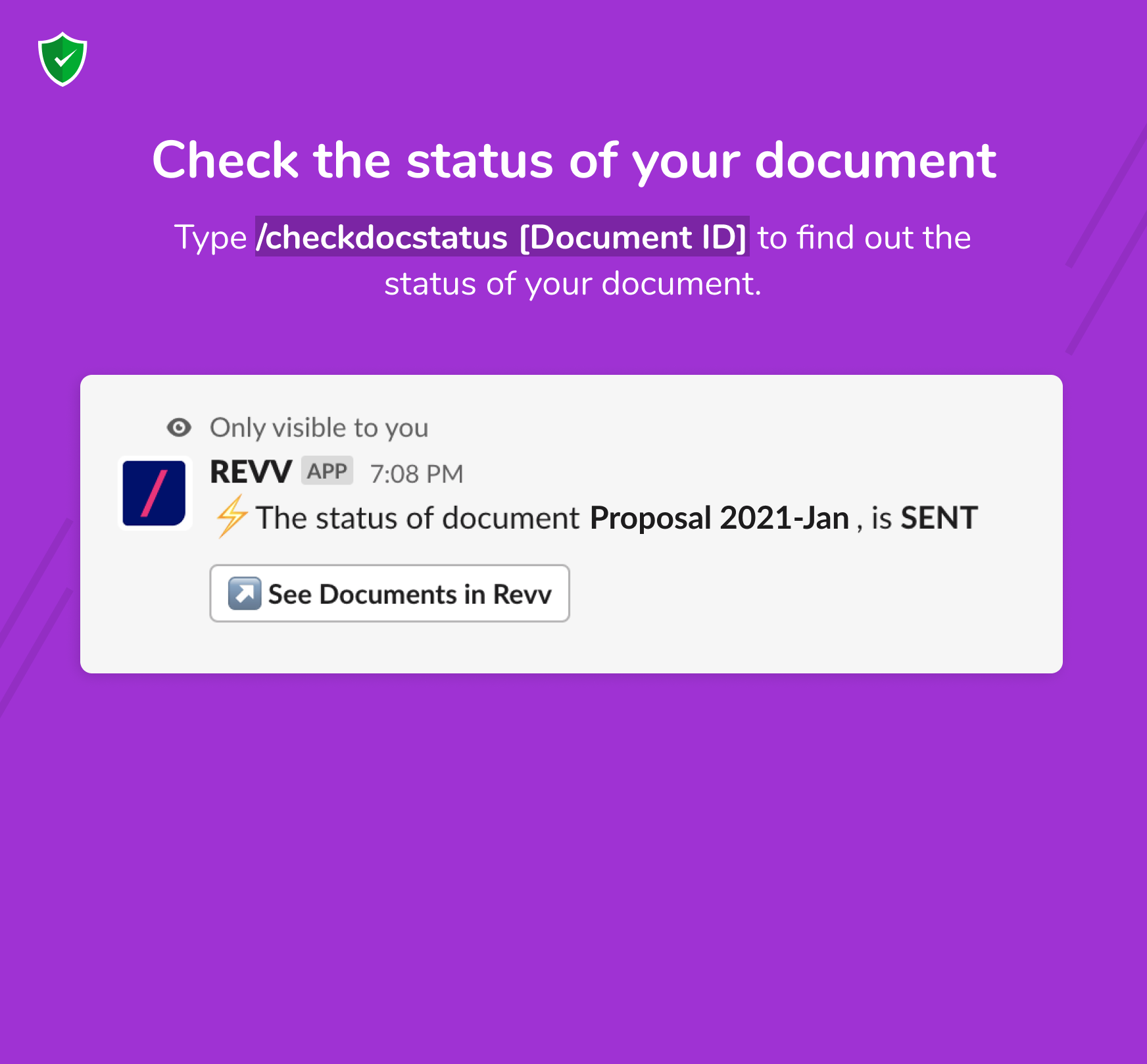 Revv is your no-code document builder that helps automate your business processes.