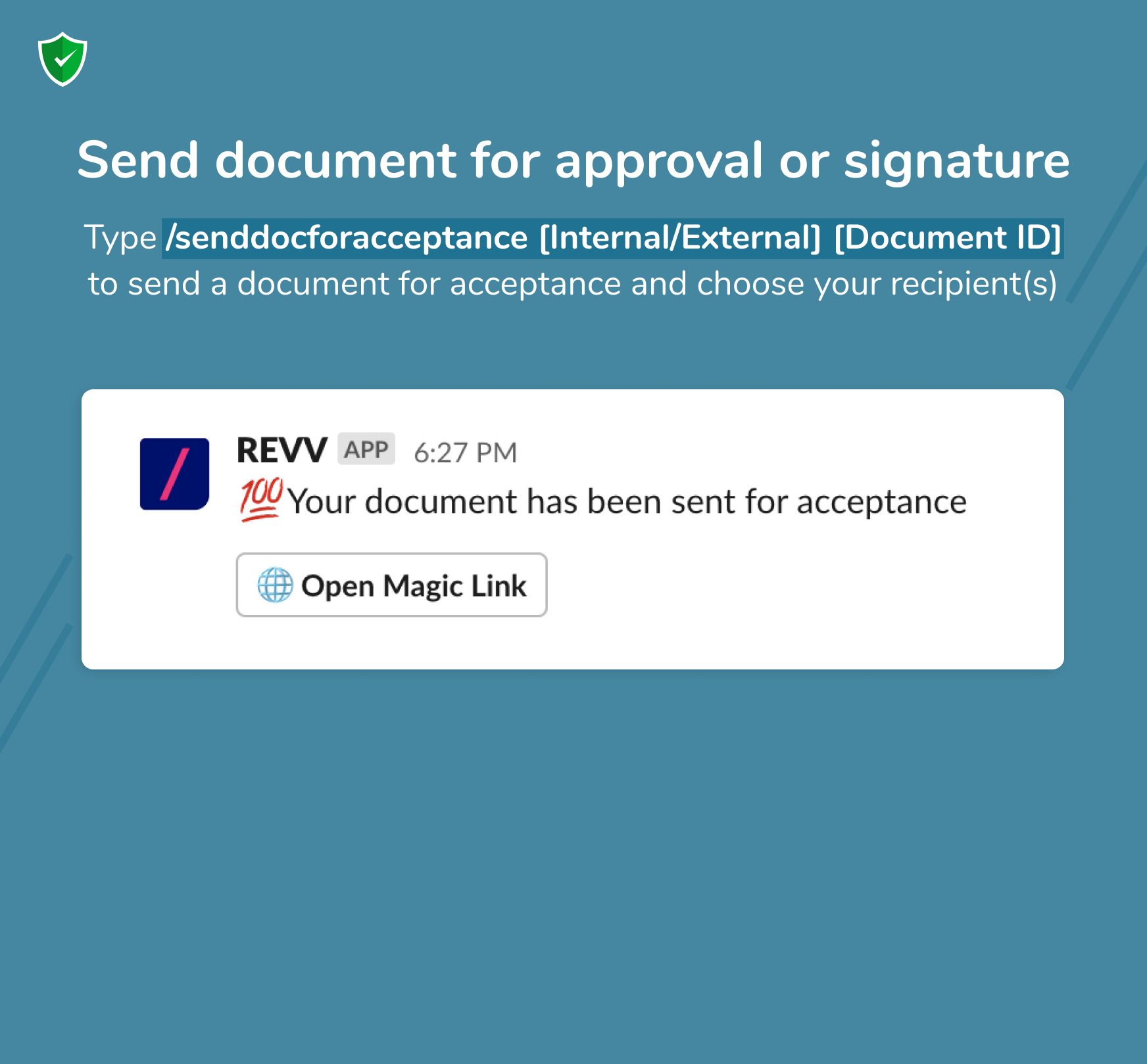 Now personalize your templates faster and optimize your business processes with Revv document builder.
